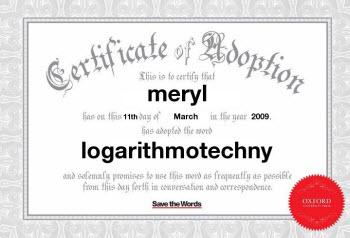 logarithmotechny
