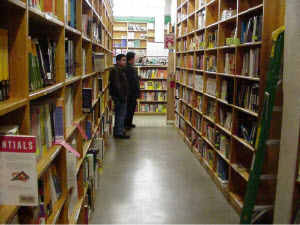 rows of books Top 25 Books for Writers and Writing related Topics