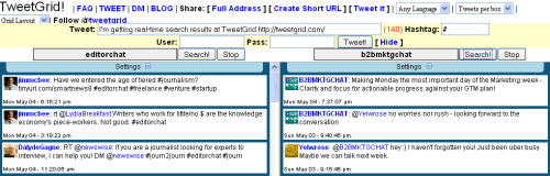 tweetgrid How to Join Twitter Chats