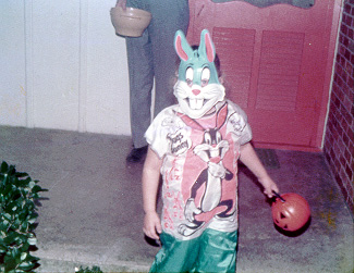 One Halloween long ago...