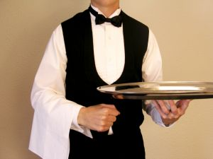 waiter 10 Actions for Writers in Providing Great Customer Service