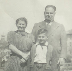 Dad with Parents