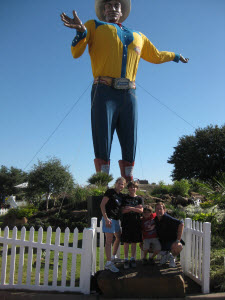 Texas State Fair with Big Tex