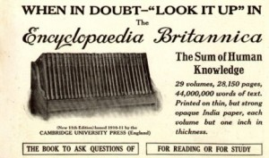 Encyclopedia Britannica 1913 300x177 Research Redefined