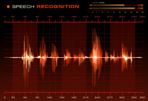 Speech Recognition Red Waveform 300x204 Speech to Text Software Test Take 2