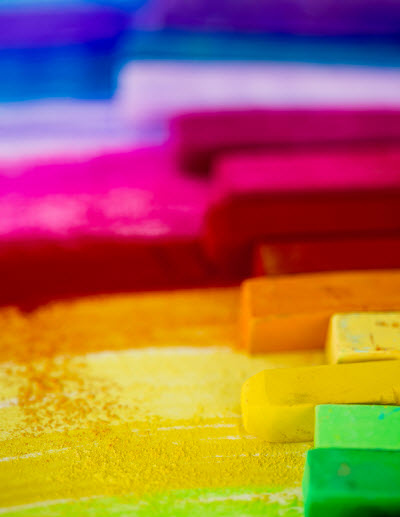 colorful chalk An Easy Way to Exceed Expectations