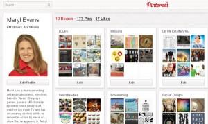 Pinterest - Meryl's page